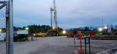 Según la versión del Geam, el pasado 5 de agosto comunidades del corregimiento Yarima manifestaron que en la plataforma petrolera donde se ubican los pozos Coyote 1, 2 y 3 se han alcanzado profundidades de casi ocho mil pies.