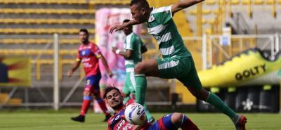 La Equidad consiguió la cuarta victoria en la Liga Águila II de 2018, luego de imponerse 1-0 sobre Pasto. El cuadro 'asegurador' mantiene el primer lugar en la competencia.