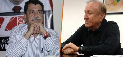 Jorge Gómez Villamizar, contralor de Bucaramanga, no se quiso referir al anuncio de denuncia en su contra por parte del alcalde, Rodolfo Hernández.