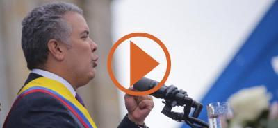 Aprobación presidencial de Iván Duque llegó al 53%