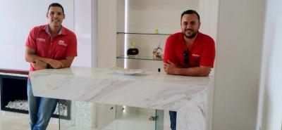 Germán Rojas, director ejecutivo, y Sebastián Moros, director comercial, son los socios fundadores de Overlayout.