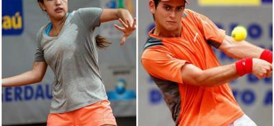 María Camila Osorio y Nicolás Mejía representarán al tenis colombiano en los Juegos Olímpicos de la Juventud 2018