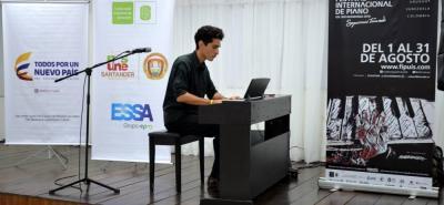 Concierto del XXXV Festival Internacional de Piano UIS tuvo lugar en la Sede Socorro.