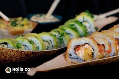 Los tipos de sushi de Rolls.co llevan nombres santandereanos y colombianos como Barichara Roll o Medellín Roll porque incluyen ingredientes autóctonos.