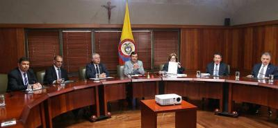 Gobierno y las Cortes acordaron cronograma para concertar reforma a la Justicia