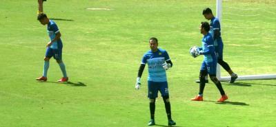 Nelson Ramos será el portero del Atlético Bucaramanga en el duelo de esta noche a las 7:00 p.m. ante Jaguares en Montería por Copa Águila.