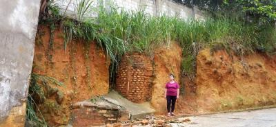 De acuerdo con los afectados, el dilema para la gestión de los recursos de la obra que necesitan es que están justo en límites entre Bucaramanga y Floridablanca.