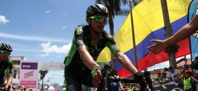 Freddy Montaña ganó la etapa del Picacho, en Santander