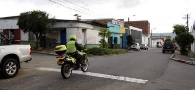 En la carrera 19 con calle 5 del barrio Los Comuneros, en Bucaramanga, se registró el homicidio del menor de edad.