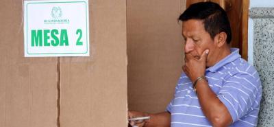 La cancillería colombiana dispuso de una Sala de Coordinación, la cual funcionará las 24 horas para hacerle seguimiento a la jornada electoral.