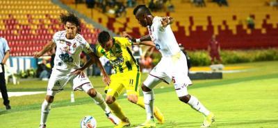 Atlético Bucaramanga volvió a perder en casa: Cayó 2-0 con Tolima