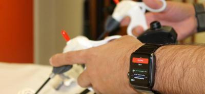 Crean software para Apple Watch que analiza los movimientos de las manos en Santander