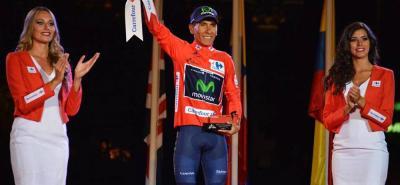 Nairo Quintana comandará al Movistar en la Vuelta a España, prueba que ya ganó en 2016 y que buscará volver a ganar este año.