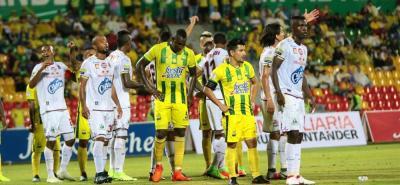Sherman Andrés Cárdenas Estupiñán, referente del Atlético Bucaramanga, confía en revertir la compleja situación del equipo.