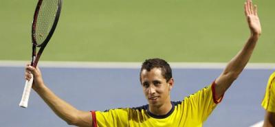 El tenista bumangués Daniel Elahi Galán ganó en su primer partido de la fase clasificatoria y mantiene su ilusión de llegar al cuadro principal de un 'grande'.