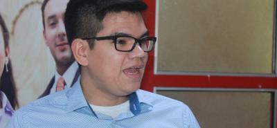 Elecciones UNAB: Dalí Muñoz, representante de los estudiantes ante la junta directiva de la UNAB.