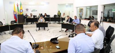 La mesa directiva del Concejo convocó para el próximo lunes a la plenaria, para dar continuidad al estudio del proyecto de Acuerdo suspendido ayer.