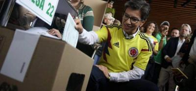 Promotores de la Consulta ejercieron su derecho al voto en Bogotá