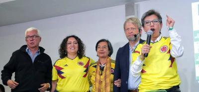 Claudia López radicará los siete puntos de la Consulta en el Congreso