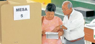 El promedio de votantes de Santander estuvo por encima de otras regiones del país como la Costa Atlántica, donde ni siquiera alcanzaron el umbral.