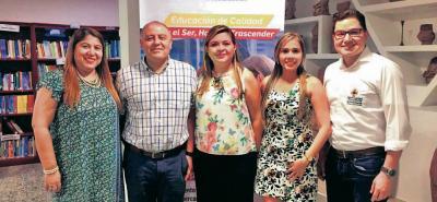 Mónica Gómez, Norman Rojas, Ana Fernanda Uribe Rodríguez, Julieth Rueda y Edwin Muñoz.