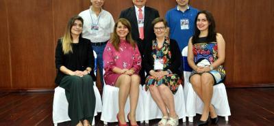 Rafael Andrés Pabón, William Reyes Serpa, Joaquín Fagoaga, María Fernanda Ramírez Gómez, Lourdes Macías, Martha Liliana Hijuelos Cárdenas y Susan Margarita Benavides.