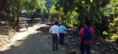 La Secretaría de Gobierno inspeccionó ayer la zona de la antigua invasión, con el fin de finiquitar las medidas para iniciar el proceso de restauración vegetal.