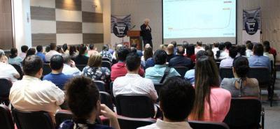 Durante la mañana de ayer se realizó en Fenalco Santander la Convención Superetes 2018, en la que se capacita a este sector para enfrentar la competencia que llega con la cadenas de super descuento. El encuentro continúa hoy.