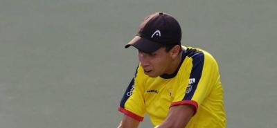 El santandereano Daniel Galán estará con Colombia en la Copa Davis