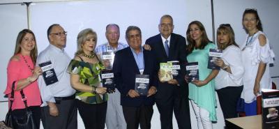 Rubiela Coronel, Carlos Claro, Miriam Ojeda, Rodrigo Verjel, Jesús Neira, Cristian Mora, Sandra Sarabia, Gloria Herreño y Aracely Figueroa.