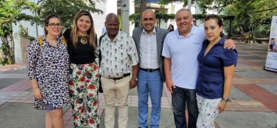 Maria Teresa Amido, Ana Fernanda Uribe Rodríguez, Carlos Martínez, Isidro Fierro, Norman Rojas y Martha Carolina Sánchez.