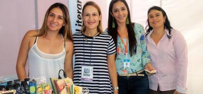 Tatiana Antolinez, María Cecilia Ramírez, Ángela Patiño y Liliana Rueda.