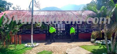 La propiedad habría sido adquirida en 1989 por un miembro de la familia Rodríguez Orejuela.