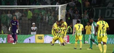Atlético Bucaramanga venció 2-3 al Atlético Nacional