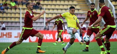 La selección Colombia, con Falcao García como referente, se verá las caras con Venezuela, en juego amistoso.