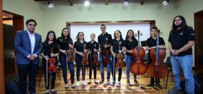 Sergio Durán, Silvia Blanco, María Martínez, Silvia Rueda, María Villamizar, Kevin Camargo, Valeria Rodríguez, Sara Pabón, Miguel Ramírez y Sebastián Galán.
