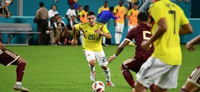 Con buen juego, Colombia venció 2-1 a Venezuela en Estados Unidos