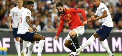España inició su nueva etapa con Luis Enrique en la Liga de Naciones de la Uefa, venciendo a Inglaterra en Londres por 2-1, y es líder del Grupo 4, que completa Croacia.
