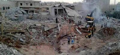 En junio pasado al menos 44 personas murieron, entre ellas 6 menores y 11 mujeres, y unas 60 resultaron heridas en bombardeos en una población de la provincia siria de Idleb.