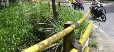 Los barrios Bellavista, Los Alpes y Altos de Bellavista exigen la reparación urgente de las estructuras.