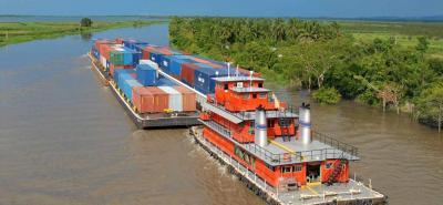 Por la principal arteria fluvial del país se transportan más de 3 millones de toneladas cada año, entre hidrocarburos y carga seca.