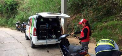 Esta es la segunda jornada que el AMB y la Dttf realizan en Floridablanca, la primera se llevó a cabo en el Casco Antiguo.