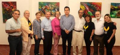 Zoylo Santamaría, Antonio José Díaz, María Hortensia de Alarcón, Alberto Alarcón, Magdalena Rojas, Carlos Mauricio Serrano, Fernando Liévano, Nidia Ramírez, Mario Gómez Díaz y María Paula Gómez.