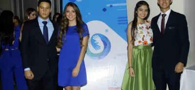 Luis Alejandro Jaimes, Nathalia Gómez Molina, Angie Mejía Rodríguez y Santiago Mantilla Sabbath.