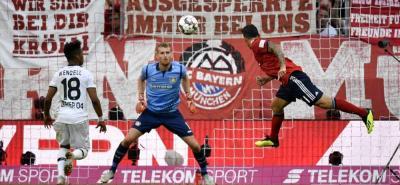 Con gol de cabeza ante Bayer Leverkusen, inició la temporada 2018 - 2019 el volante colombiano James Rodríguez con Bayern Múnich, con el que se estrenó ayer en cumplimiento de la tercera fecha de la Bundesliga.