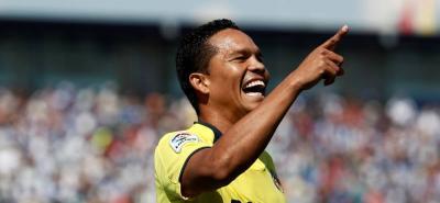El colombiano ingresó al minuto 60 y a los cinco minutos marcó el gol de la victoria.