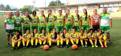 Esta es la selección Santander prejuvenil femenina de fútbol, que debutó ayer en el Nacional venciendo 1-0 a Antioquia.