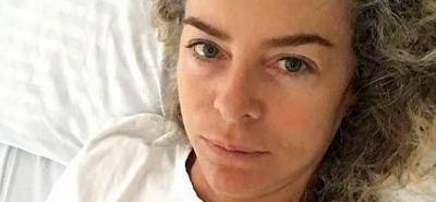 Margarita Rosa de Francisco estuvo hospitalizada por mucho ejercicio y dieta desbalanceada