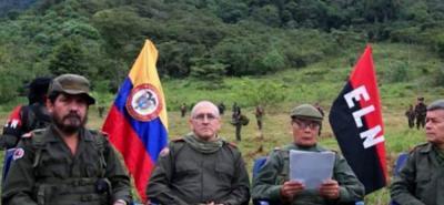 La Fiscalía aclaró que de los integrantes del grupo insurgente señalados, se encuentra suspendida la orden de captura de Israel Ramírez, alias 'Pablo Beltrán', por solicitud del Gobierno Nacional.