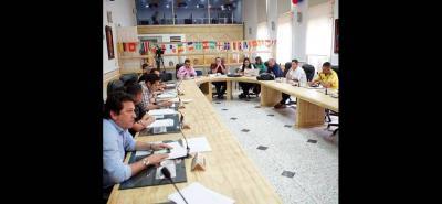 En la sesión plenaria de este lunes varios cabildantes se refirieron a la Ptar San Silvestre.
